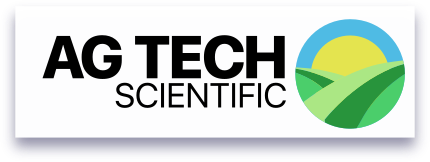 Ag tech logo with shadow